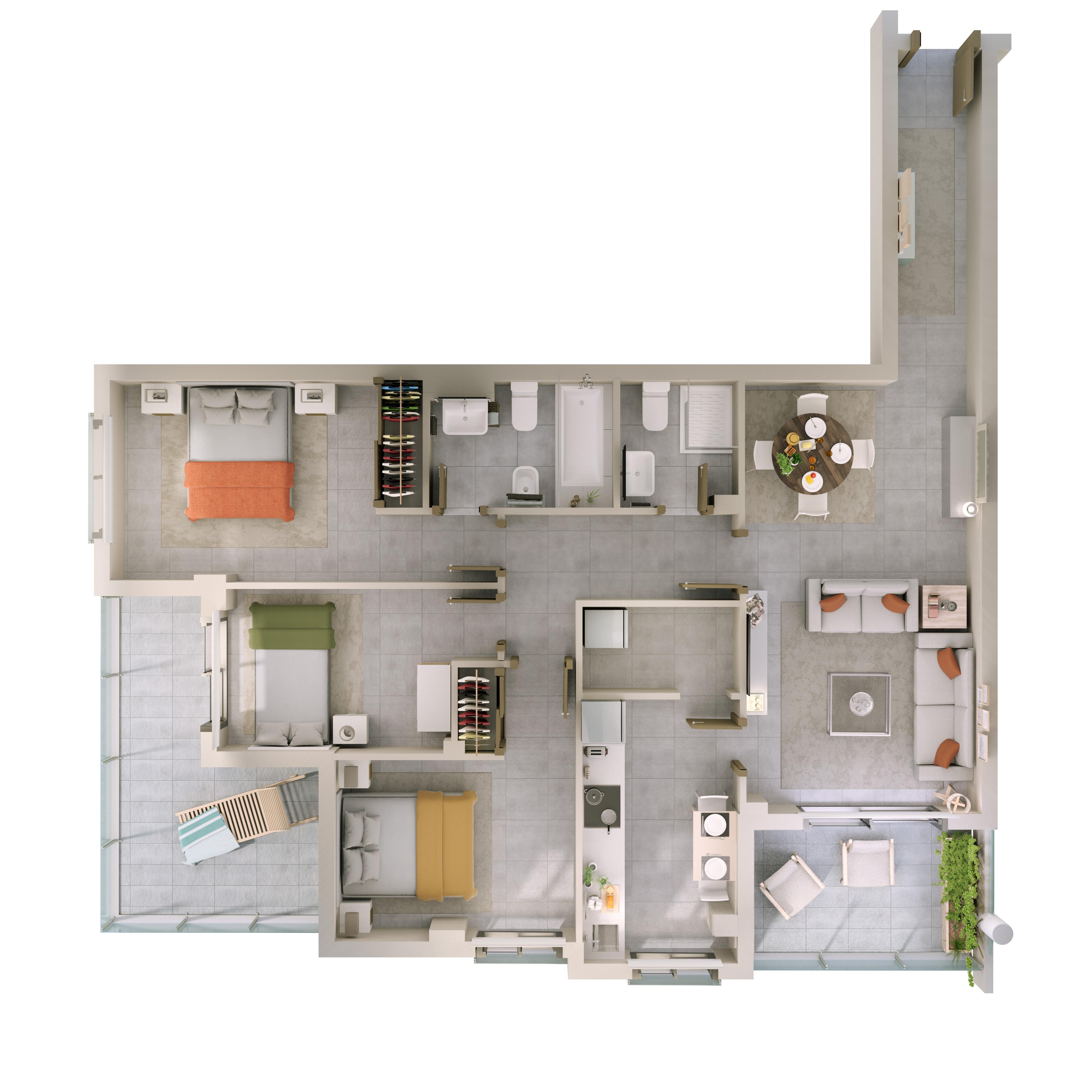 Luxury Apartments In New Development Las Terrazas I Ii
